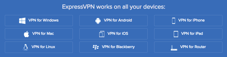 VPN for different devices