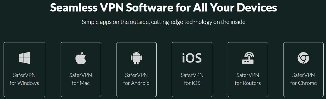 SaferVPN Platform Availability