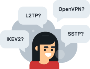 change VPN protocols