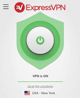 ExpressVPN Connecting