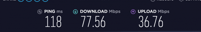 PIA speed test US