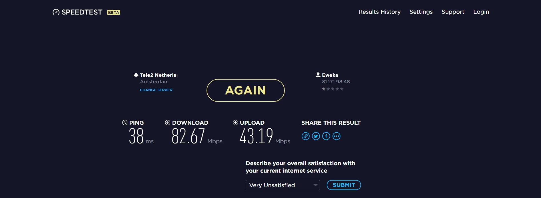 IPVanish speed performance