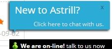 Astrill live chat