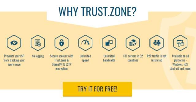 Trust.Zone features