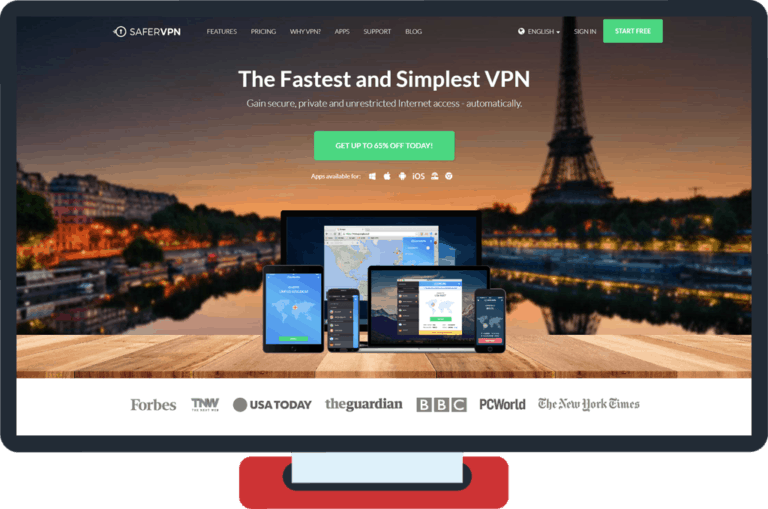 SaferVPN Review: 3 Reasons Why It's Not Our Favourite