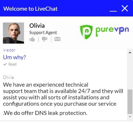 PureVPN customer support is worst