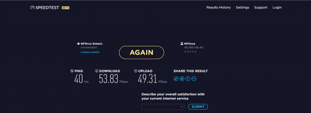 TorGuard Speed Test