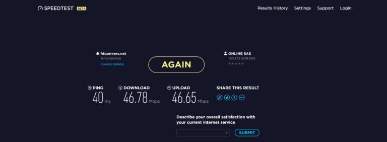 Buffered VPN Speed Test