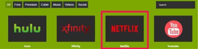 ZoogVPN Netflix options