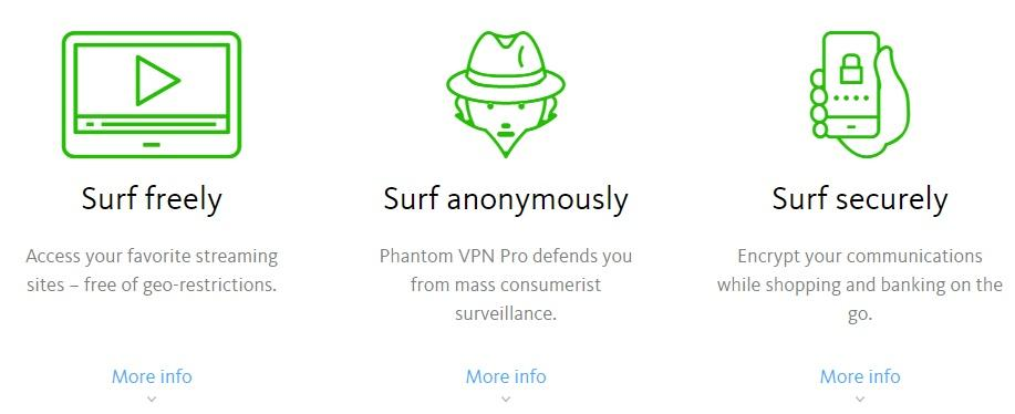 Avira VPN anonymous and secure