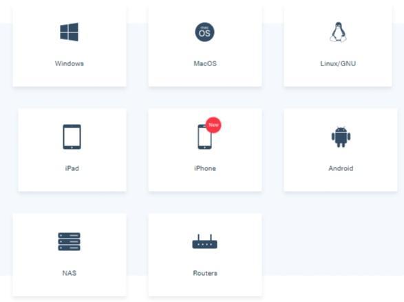 IVPN device apps