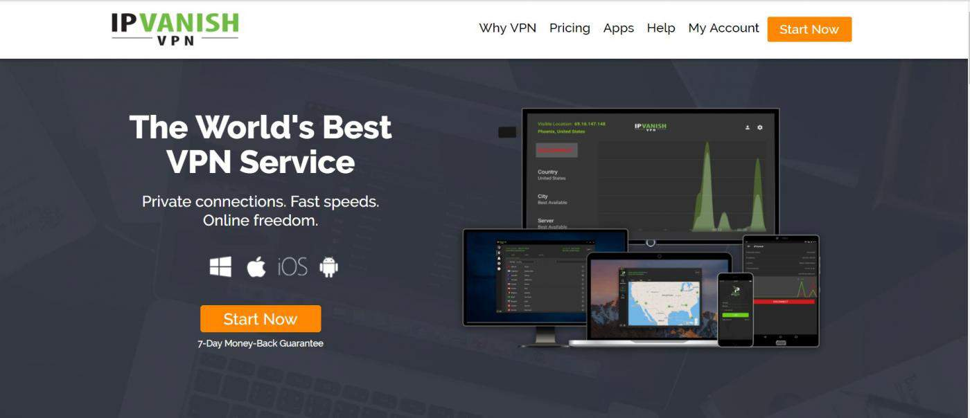 IPVanish speed #5th