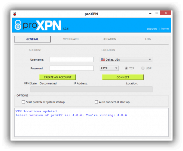 proxpn client