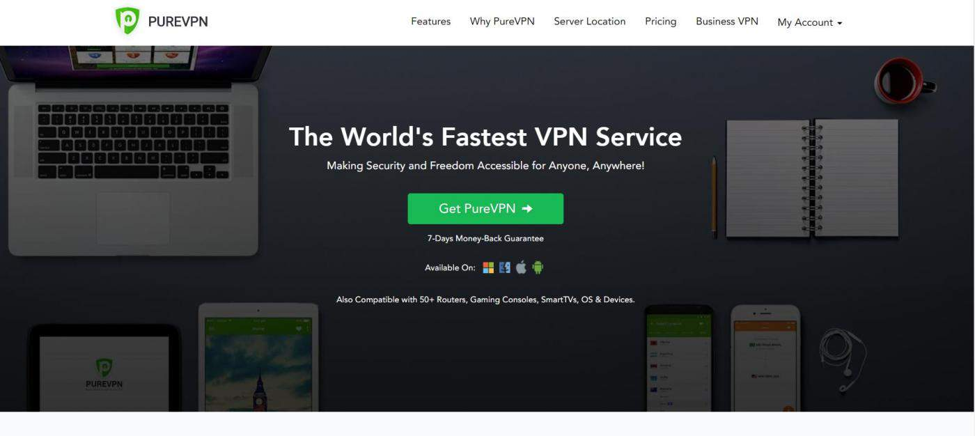 PureVPN is the cheapest paid vpn