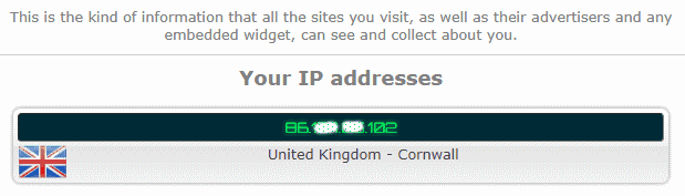 Your IP address #2