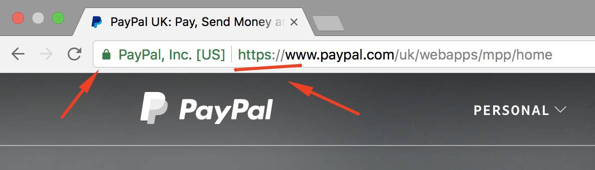 paypal (https secure)