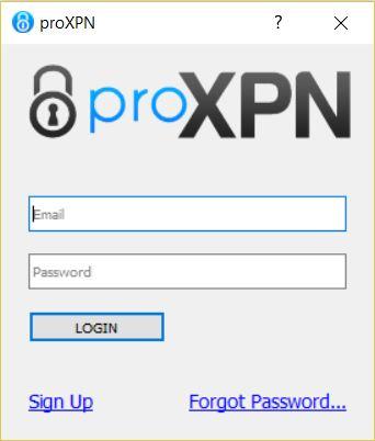 proxpn login