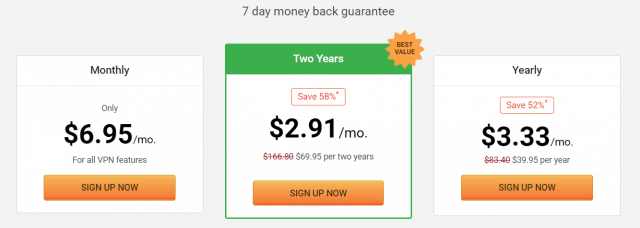 Pia 2 year subscription
