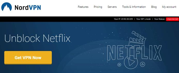 NordVPN for Netflix