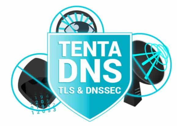 Tenta sends DNS requests over secure TLS
