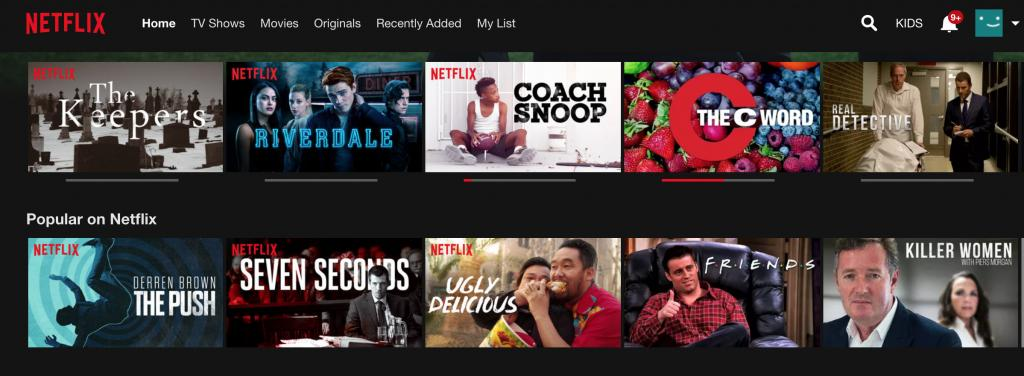 Netflix works with NordVPN