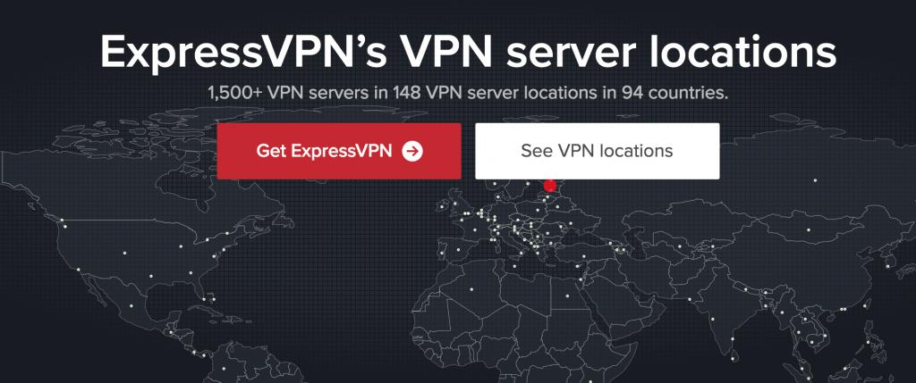 ExpressVPN locations