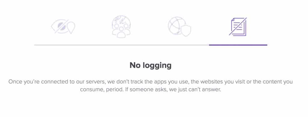 avast vpn logging policy