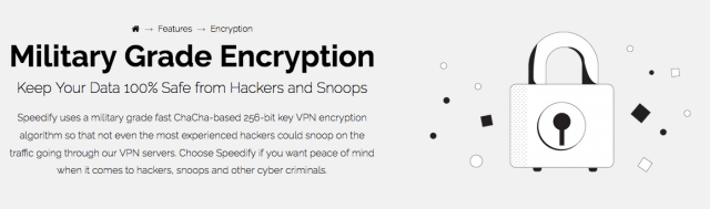 Speedify VPN Encryption