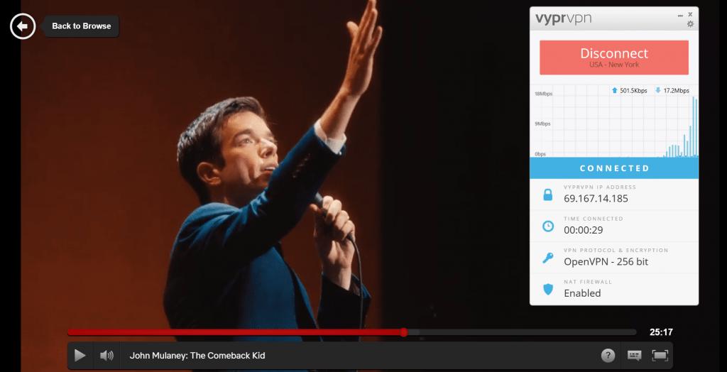 Netflix bypass