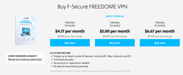 f-secure freedome vpn cracked android