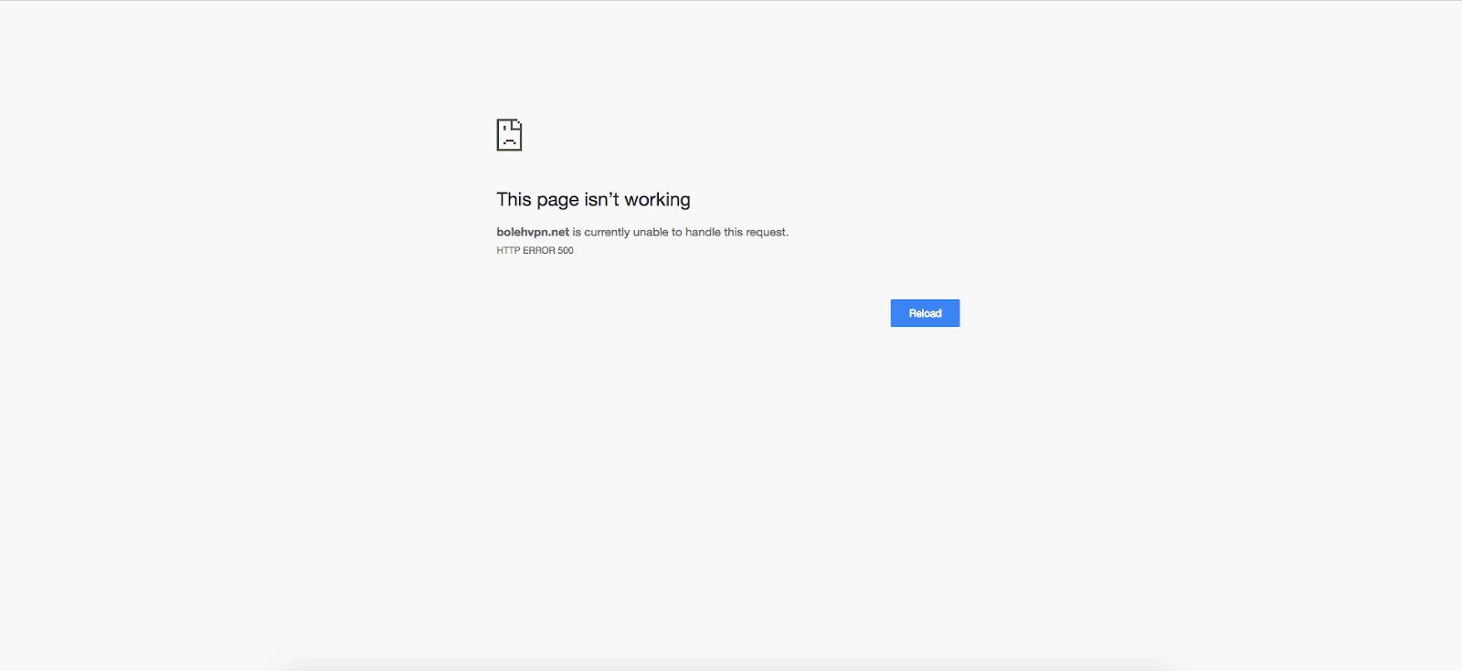 Forum not reachable