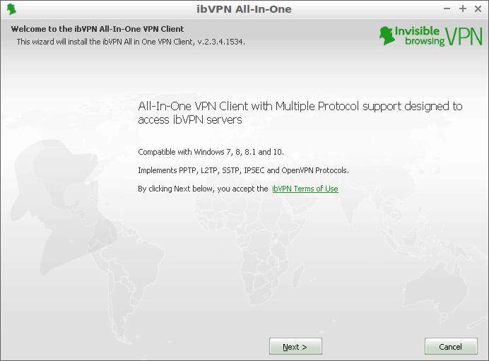 ibvpn installer