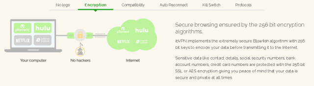 ibvpn encryption graph image