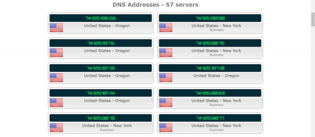 SurfEasy DNS Leak test