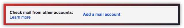 Gmail add mail account
