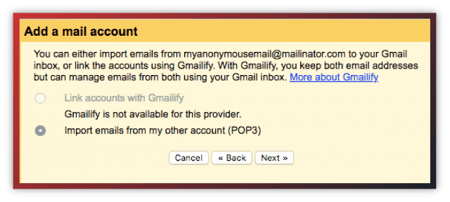 Gmail add mail account 3