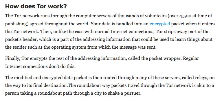 Celo VPN How Tor works