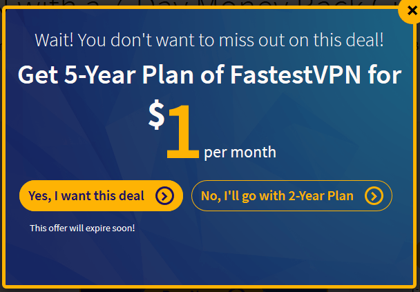 FastestVPN Offer
