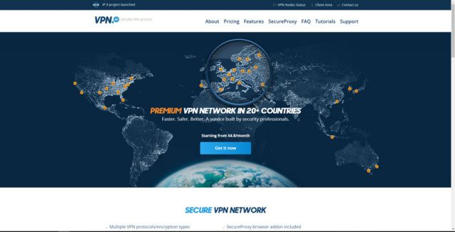 VPN.ac review + homepage