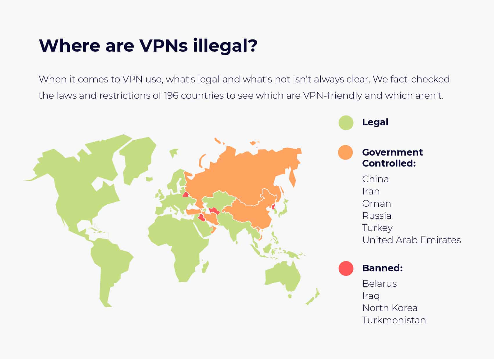 Are VPNs Legal In Your Country (196 Countries Reviewed)