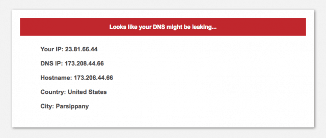 PersonalVPN leaks your DNS