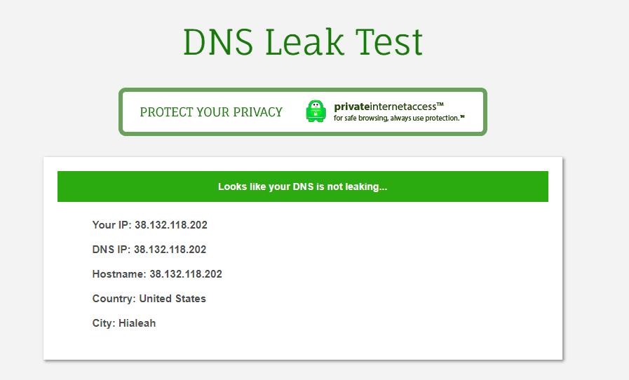 NordVPN no leaks