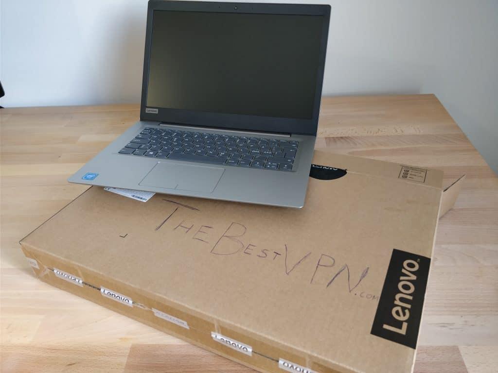 vpn testing laptop