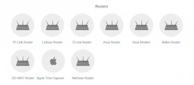 hide my ip VPN routers