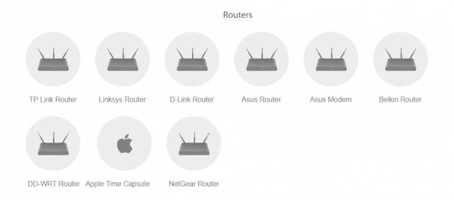 hide my ip VPN routers