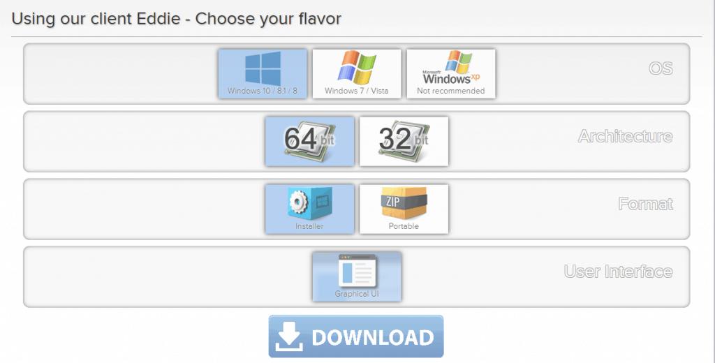 AirVPN installer files