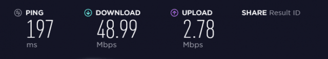 US speed test