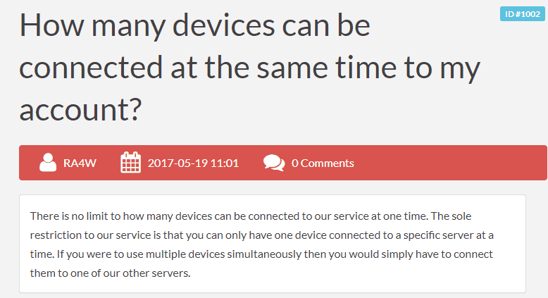 unlimited devices
