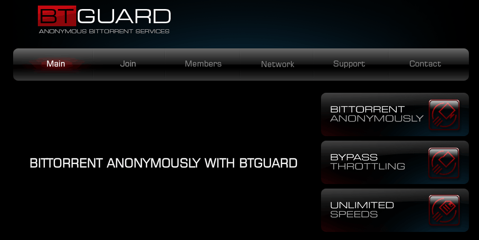 Torrenting is allowed with BTGuard