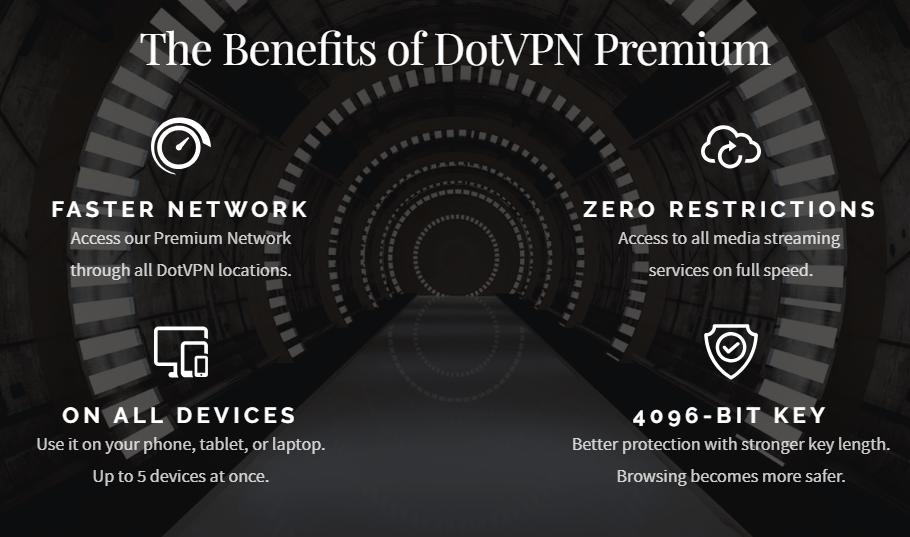 DotVPN premium